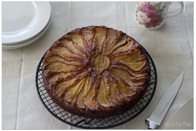 Baked Pear Coffee Cake
